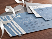 Birch Tree Wedding Invitation